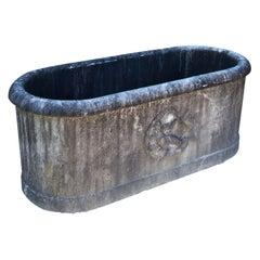 Aus Marmor Badewanne, erste Hälfte 20. Jahrhundert