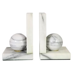 Marble Bookends Geometric Contemporary Design