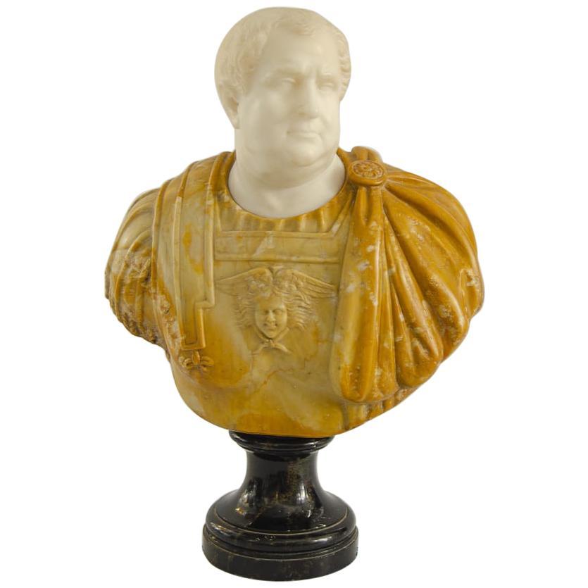 Marble Bust 'Emperor Vitelius'