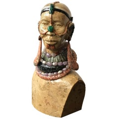 Marble Bust of African Queen