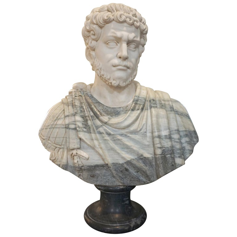 Marble Bust of Julius Caesar For Sale