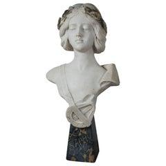 Marble Bust of Sapho