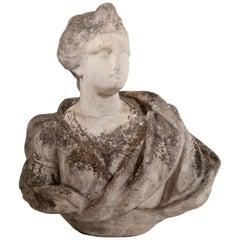 Marble Bust, Probably 17th Century
