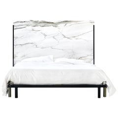Marble Cal King Bed