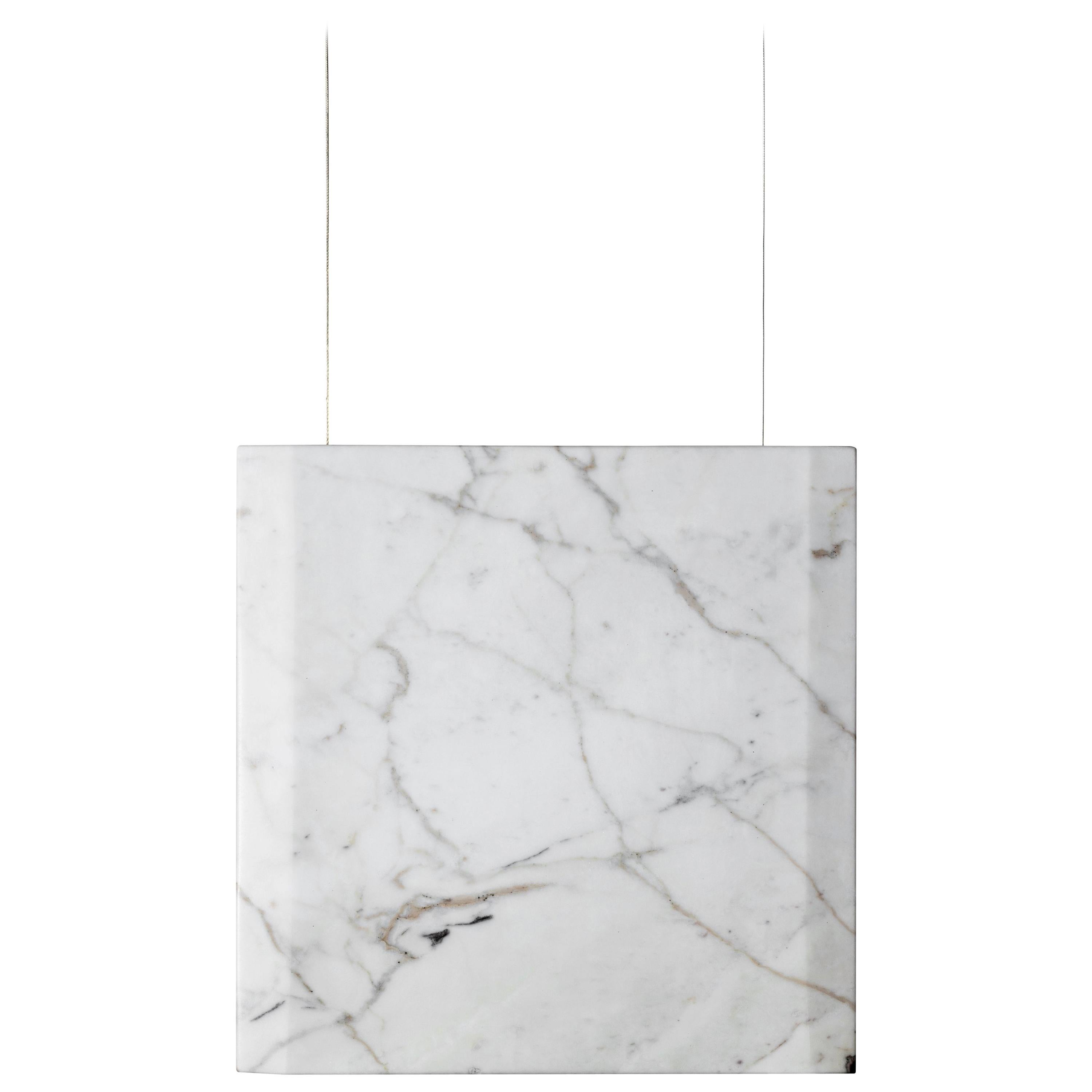 """Calacatta Marble Ceiling lamp """"Werner Sr."""" in Stock"""