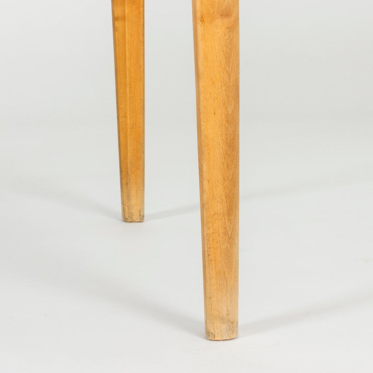 Mid-20th Century Marble Coffee or Playing Table by Axel Larsson For Sale