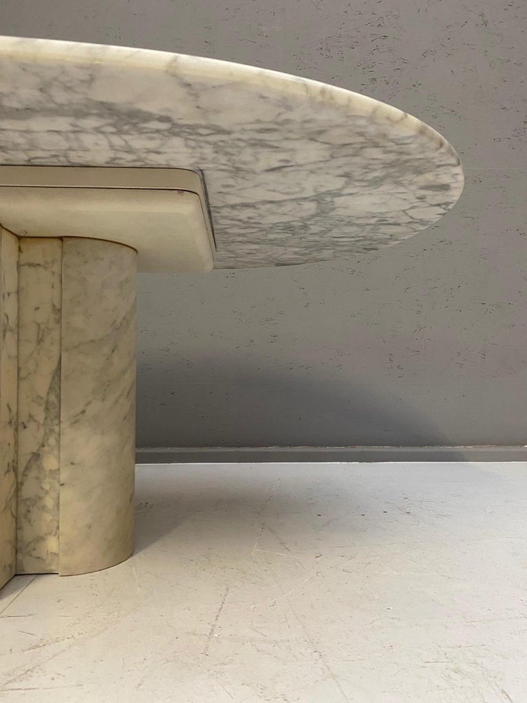 Marble coffee table, 1970s.