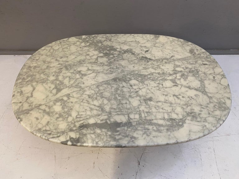Mid-Century Modern Marble Coffee Table, 1970s For Sale