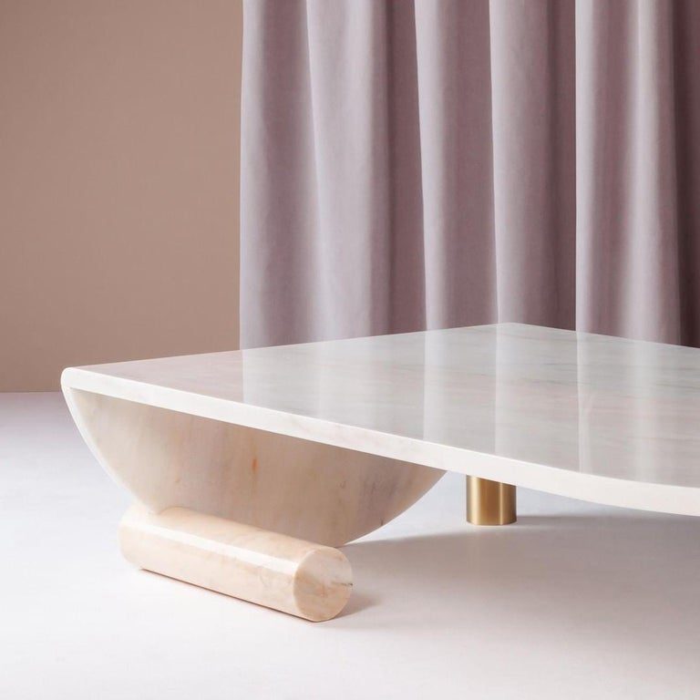 Portuguese Marble Coffee Table by Dooq For Sale
