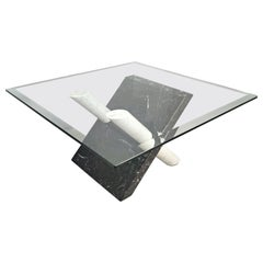 Marble Coffee Table by Maurizio Cattelan, Italy, 1980s