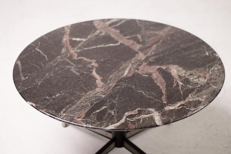 Round Italian coffee table from the 1950s.