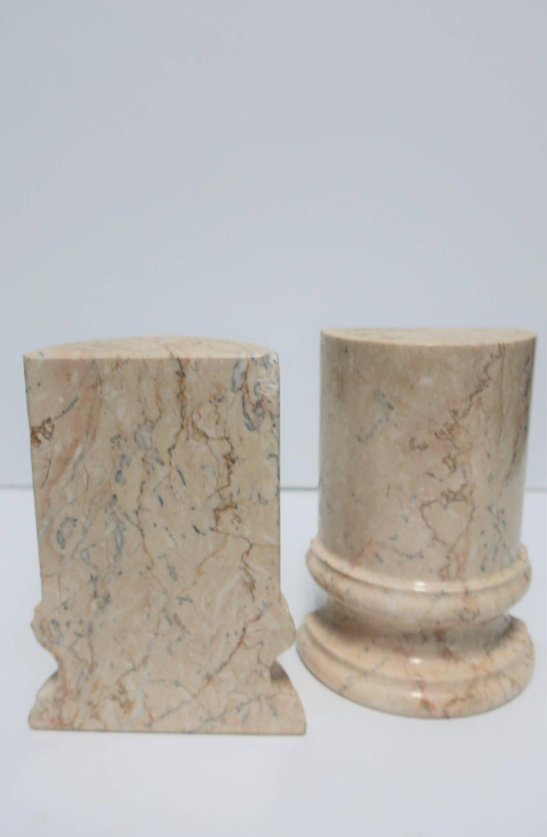 Marble Column Bookends For Sale 5
