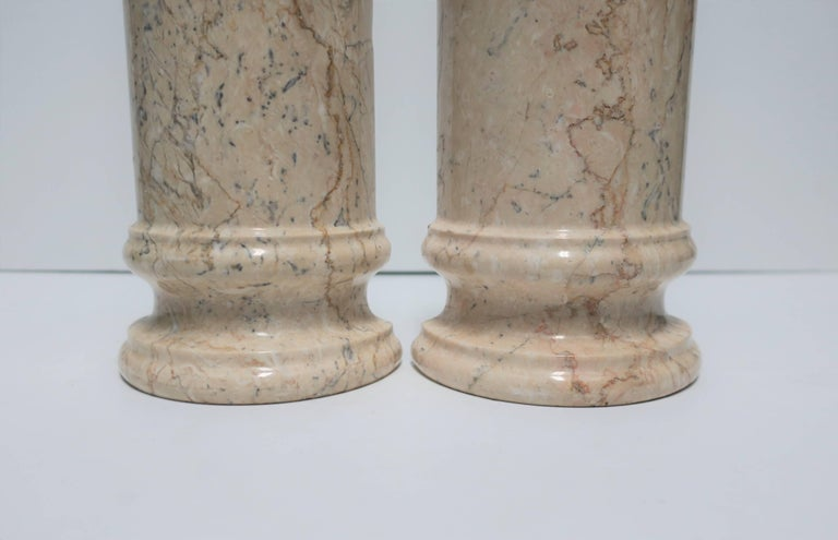 Marble Column Bookends For Sale 3