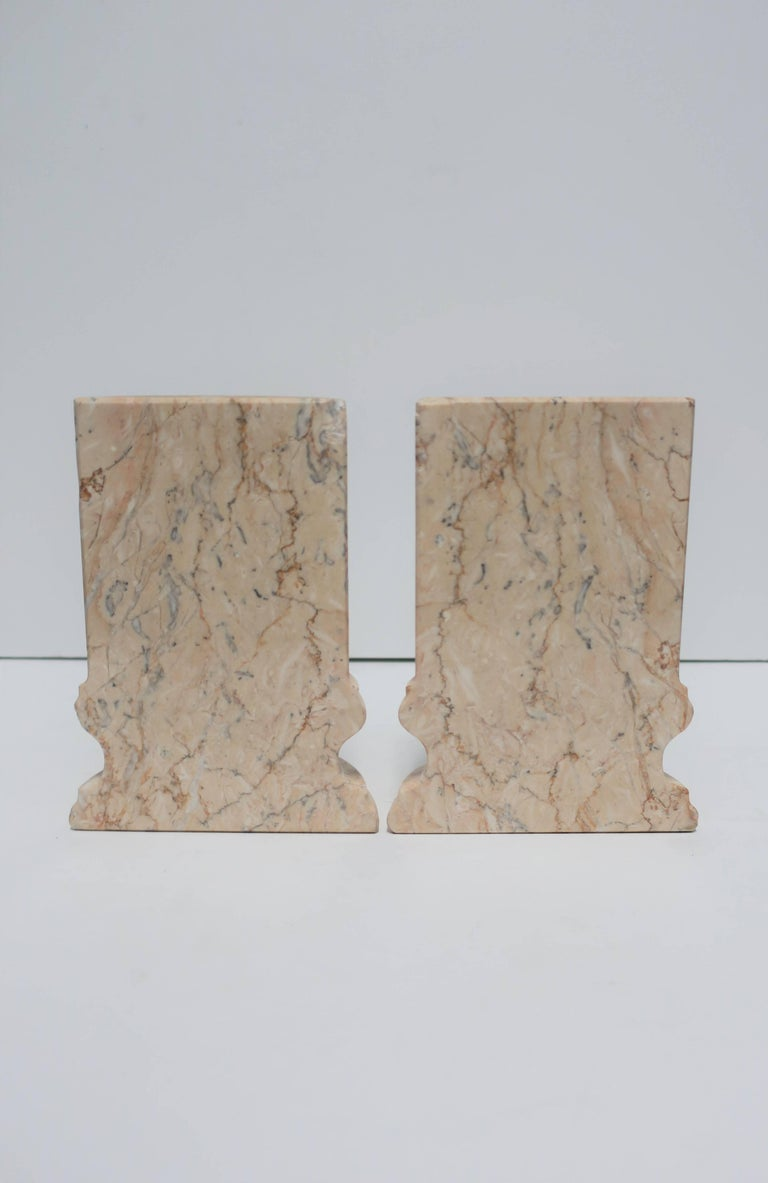 Marble Column Bookends For Sale 4