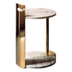 Marble Cosimo Side Table by Marta Sala Editions