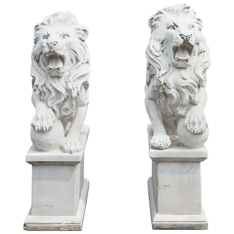 Marble Lions, 21st Century