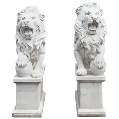 Marble Lions, 21st Century
