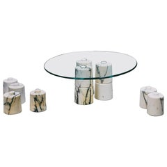 Marble Low Coffee Table by Samuele Brianza