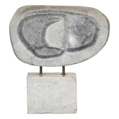 Marble Sculpture after Barbara Hepworth, 1950s