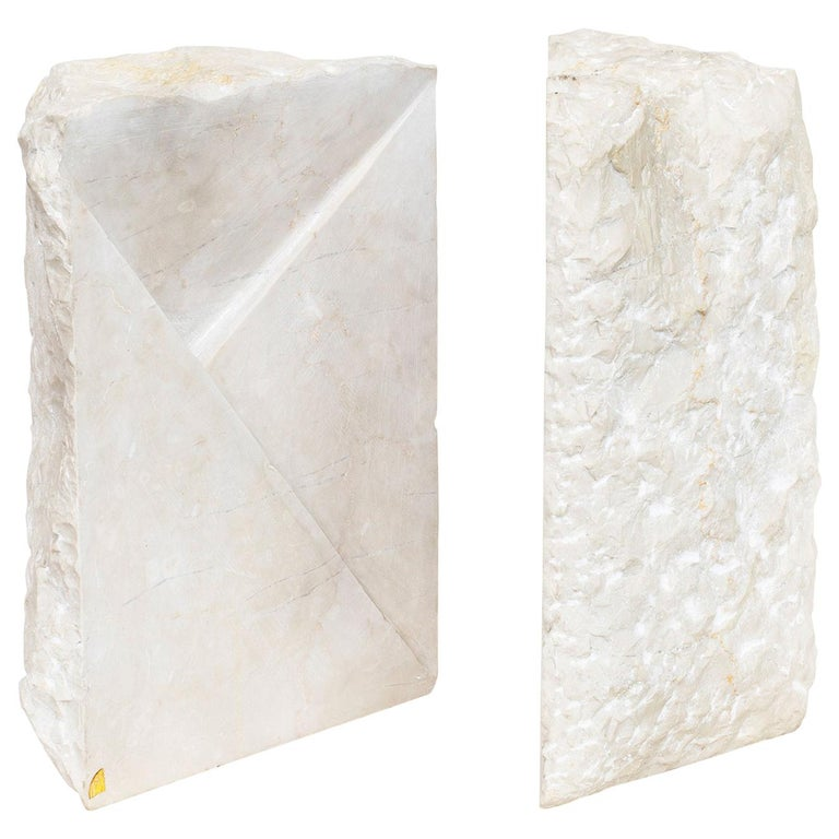 Marble Sculpture by Hanna Eshel For Sale