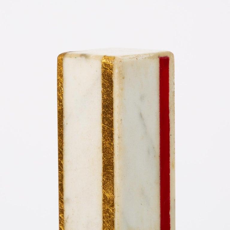 "Marble Sculpture by Ilya Bolotowsky, ""Column #22"" 4"