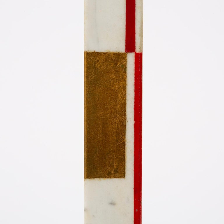 "Marble Sculpture by Ilya Bolotowsky, ""Column #22"" 5"