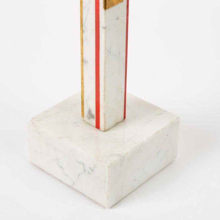 "Marble Sculpture by Ilya Bolotowsky, ""Column #22"" 3"