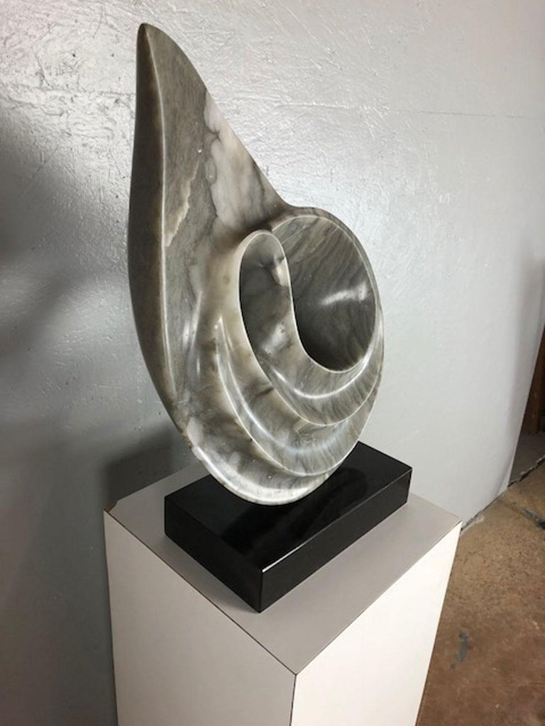 Modern Marble Sculpture by Jeannie For Sale