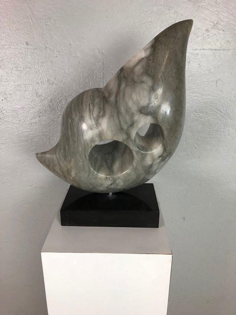 American Marble Sculpture by Jeannie For Sale