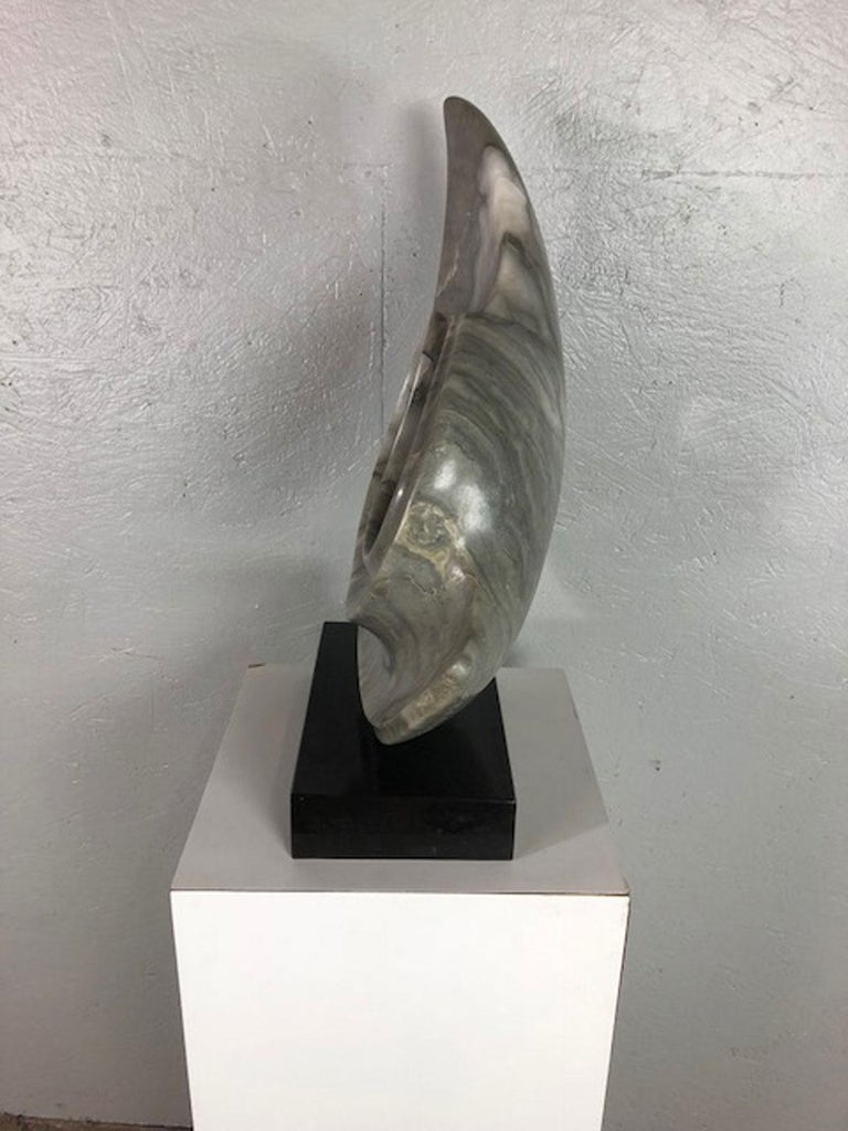 Marble Sculpture by Jeannie For Sale 1