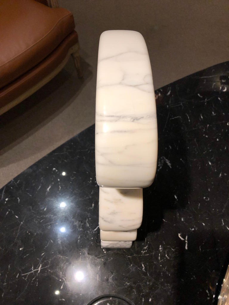 Marble Sculpture by JF Bourdier, France, circa 2016 In Good Condition For Sale In New York, NY