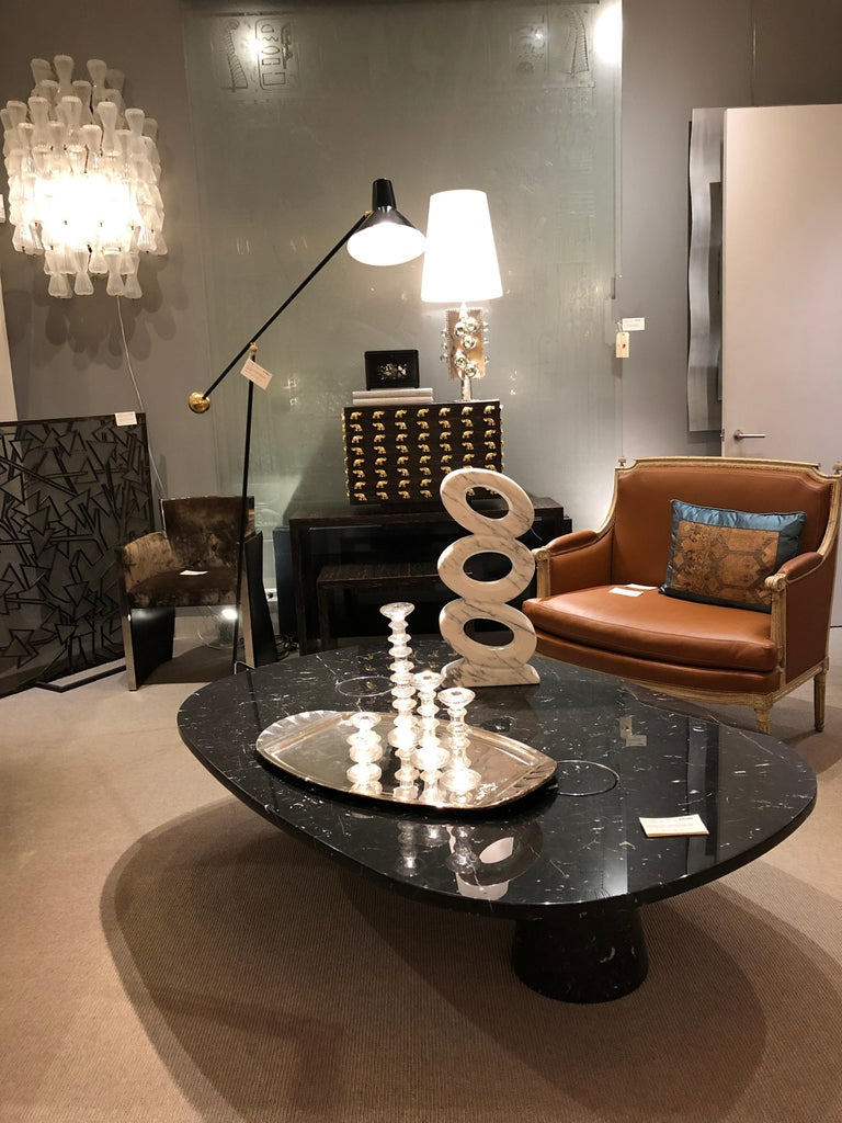 Contemporary Marble Sculpture by JF Bourdier, France, circa 2016 For Sale