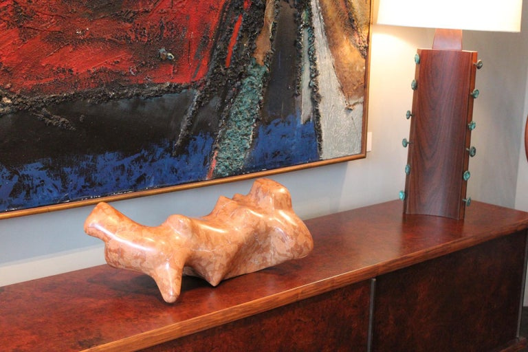 Marble Sculpture by Robert Winslow, 1984 For Sale 5