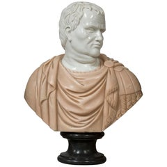 Marble Sculpture Inspired by Busts Portraits of the Roman Empire