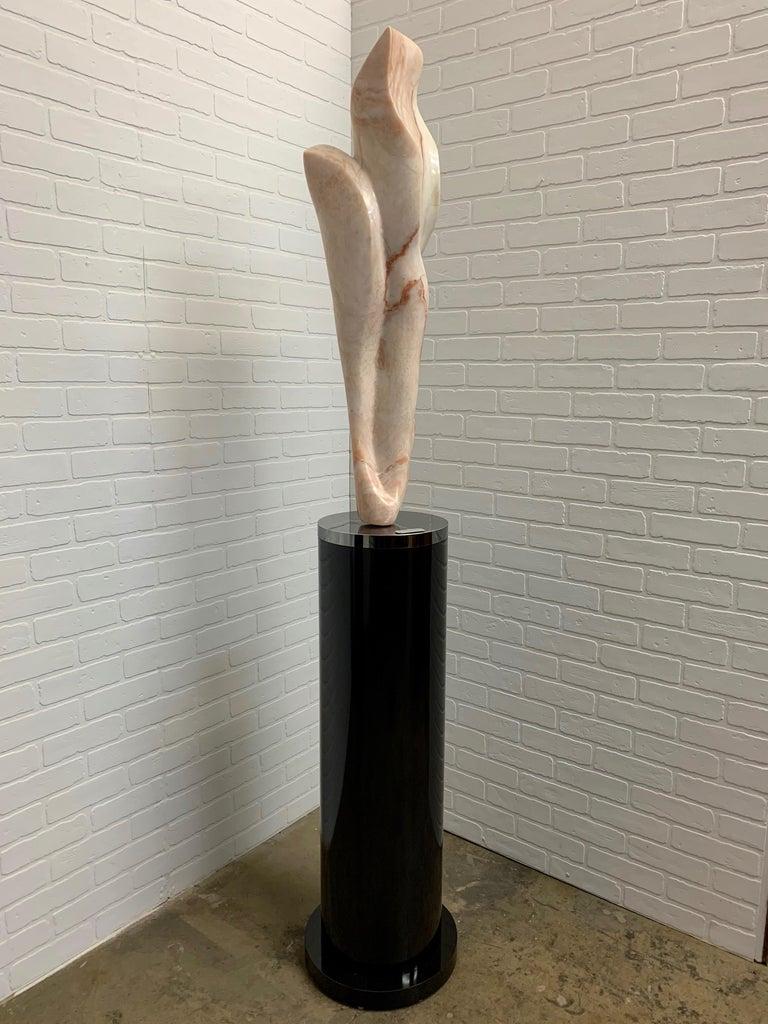 Modern Marble Sculpture Titled