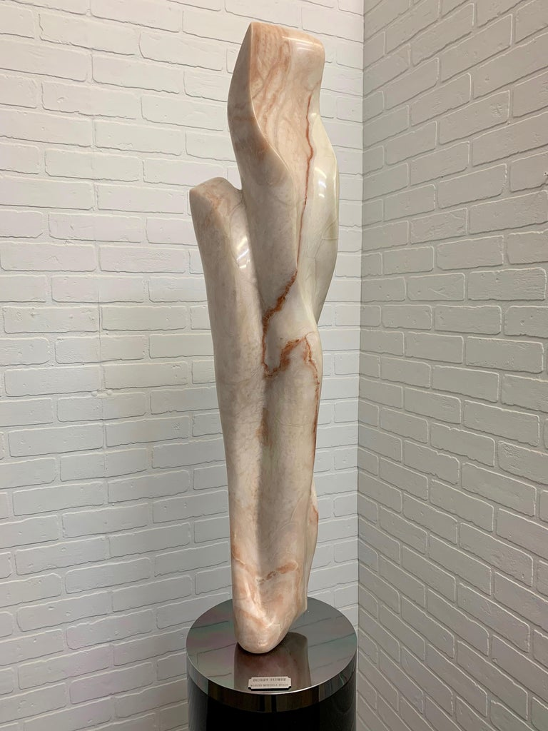 North American Marble Sculpture Titled