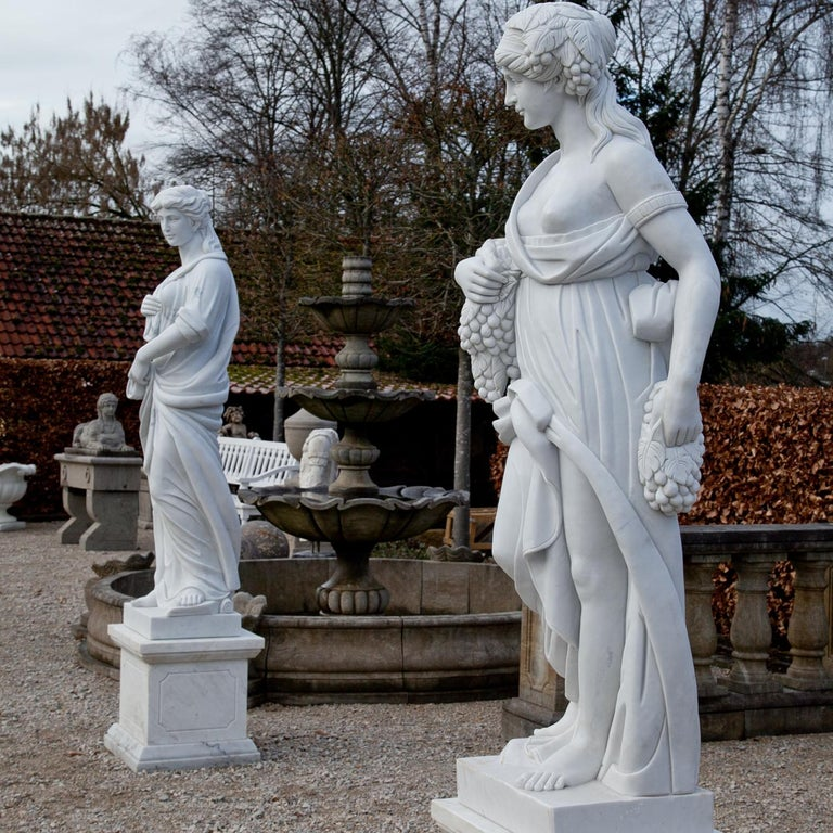 Marble Sculptures, Four Seasons, 21st Century At 1stdibs