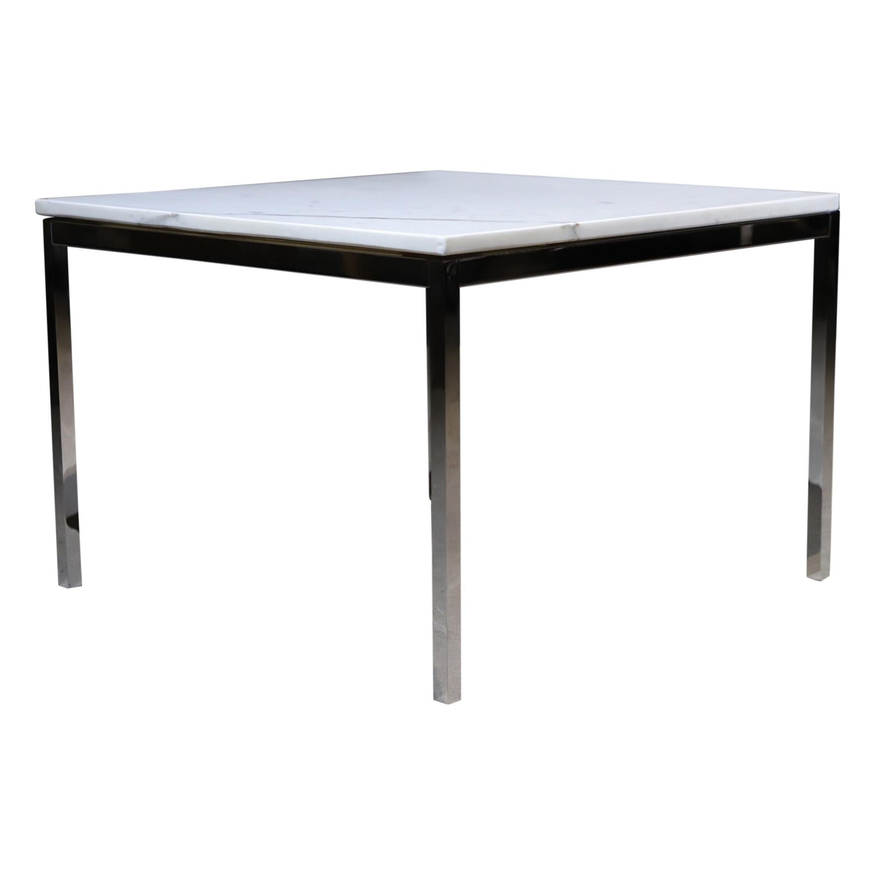 Marble Side Table by Florence Knoll