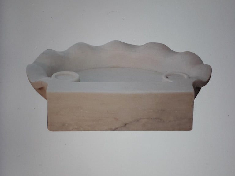 Marble Sink Basin In Excellent Condition For Sale In Cranbrook, Kent