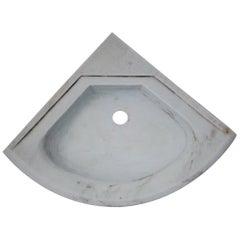 Marble Sink Corner Basin