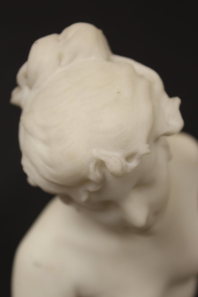 Marble Statue by Rene Bulens For Sale 5