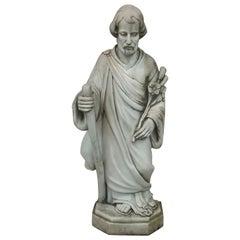 Marble Statue of Saint Joseph