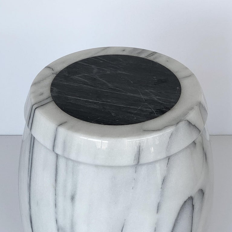 Marble Stool or Side Table For Sale 1