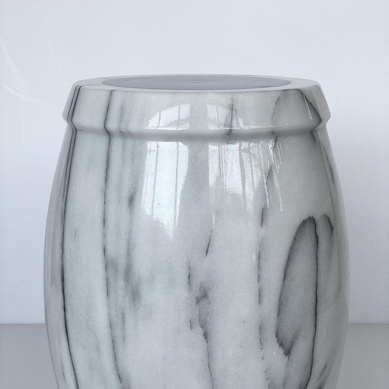 Marble Stool or Side Table For Sale 2