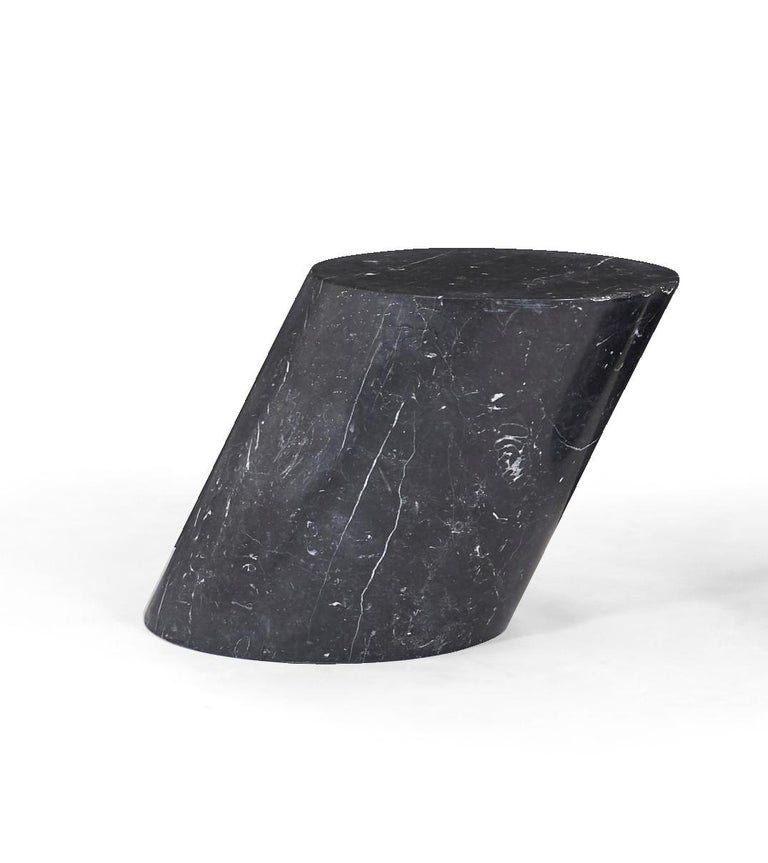 Marble Stump Tables by Lucia Mercer for Knoll For Sale 1