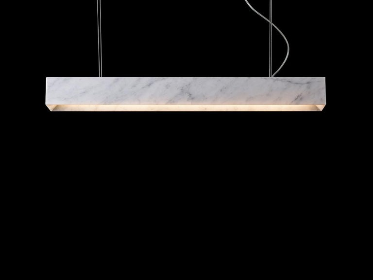Modern Marble Suspension Lamp