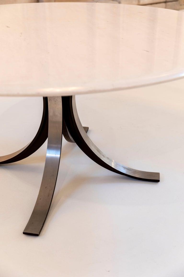 Italian Marble Table by Osvaldo Borsani and Eugenio Gerli for Tecno For Sale