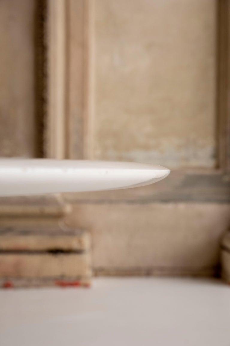 Carrara Marble Marble Table by Osvaldo Borsani and Eugenio Gerli for Tecno For Sale