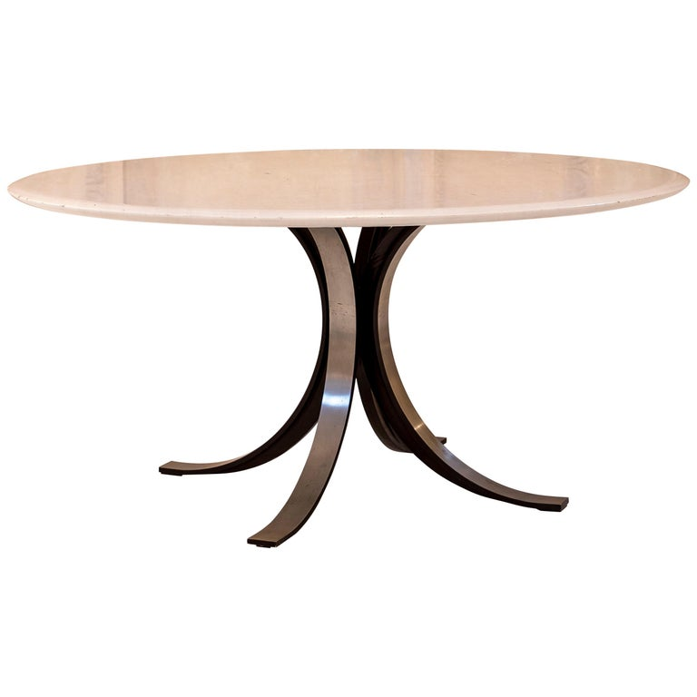 Marble Table by Osvaldo Borsani and Eugenio Gerli for Tecno For Sale