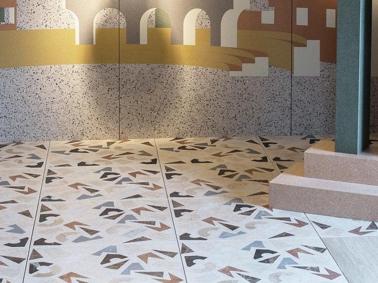 Molded Floor tiles Terrazzo - Barena Decor For Sale
